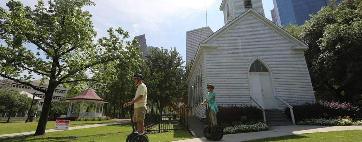 Houston History TourSlower paced tour - More History!